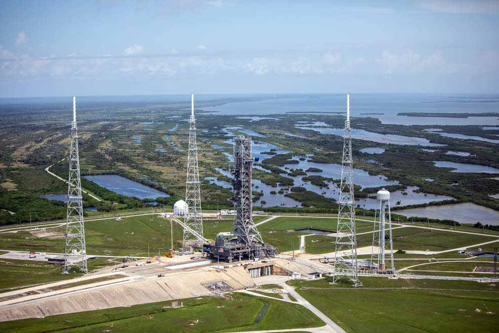 Modifications to Launch Complex 39B Emergency Egress