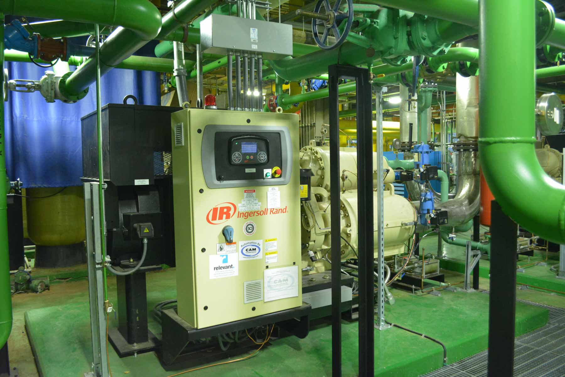 Replace Compressed Air System Building 24